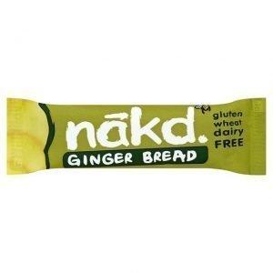 Nakd Bar Ginger Bread 35g - 35 Gram - 1 Bare