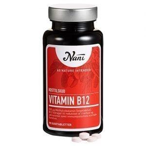 Nani Vitamin B12 - 500 mcg - 90 Tabl