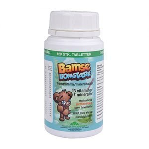 Natur Drogeriet Bamses Barnvitamin - 120 Tabl