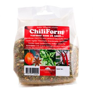 Natur Drogeriet Chili Form Te - 100 G