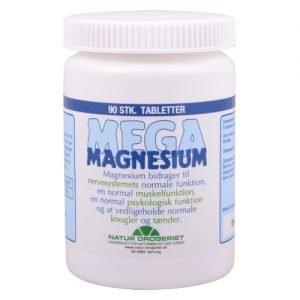 Natur Drogeriet Mega Magnesium 200 Mg - 90 Tabl