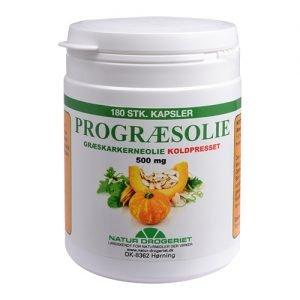 Natur Drogeriet Pumpakärnolja 500 Mg - 180 Kaps