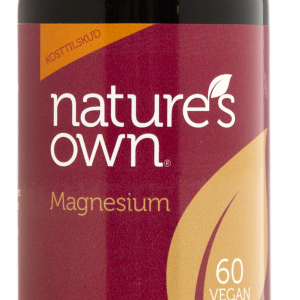 Natures Own Magnesium - 100 mg - 60 Tabl