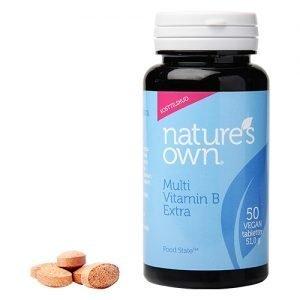 Natures Own Multi Vitamin B Extra - 50 Tabl