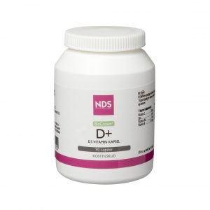 Nds D3 + Vitamintablett - 90 Kaps