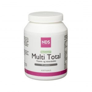 Nds Multitotal Multivitamin Och Mineral - 90 Tabl