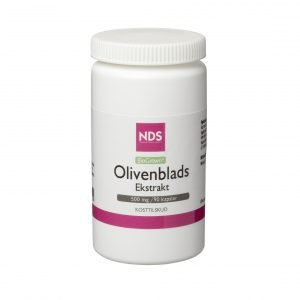 Nds Olivbladsextrakt 500 Mg - 90 Kaps