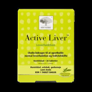 New Nordic Active Liver - 30 Tabl