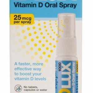 Nordic Health D3 Vitamin Spray (D Lux 1000) - 25 mcg - 15 ml