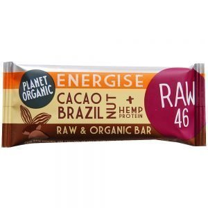 Planet Organic energibar med paranötter & kakao - 1 Bar - 30 Gram