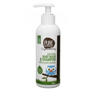 Pure Beginnings Baby Wash & Shampoo Eko - 200 ml