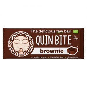 Quin Bite Brownie Bar - - 30 G