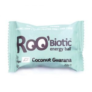 ROO bar Roobiotic Energibombe Kokos & Guarana Ã? - 22 G