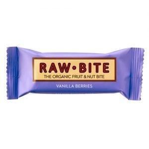 Rawbite Raw Frukt & Nötbar Bär & Vanilj - 50 G