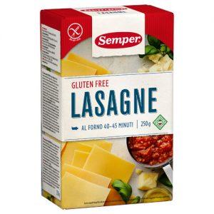 Semper Lasagne Glutenfri - 250 G