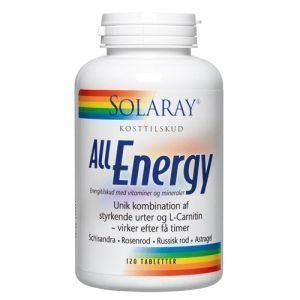 Solaray All Energy - 120 Tabl
