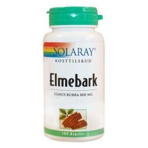 Solaray Elmebark - 400 mg - 100 Kaps