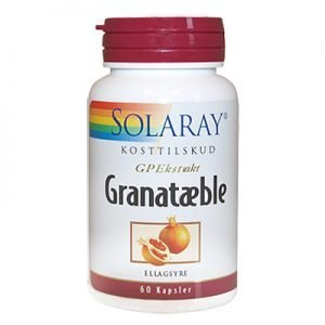 Solaray Granatæble - 60 Kaps