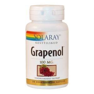 Solaray Grapenol - 100 mg - 30 Kaps