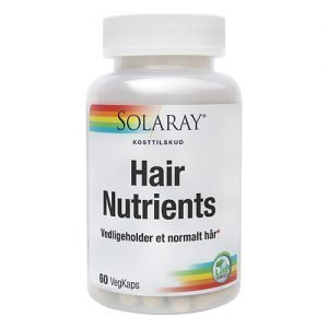 Solaray Hair Nutrient - 60 Kaps