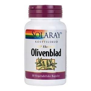 Solaray Olivenblad - 30 Kaps