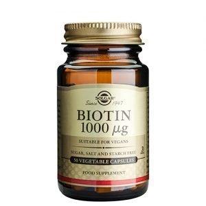 Solgar Biotin 1000ug - 50 Kaps