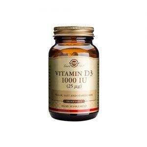 Solgar D3-Vitamin - 25 mcg - 100 Kaps