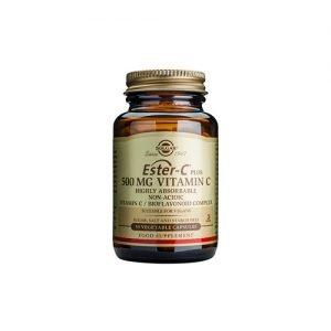 Solgar Ester C-vitamin Plus - 500 mg - 50 Kaps