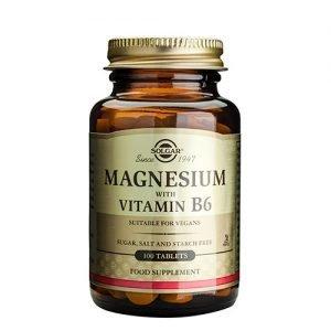 Solgar Magnesium+b6 - 100 Tabl