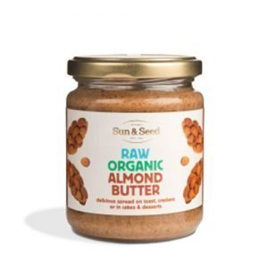 Sun & Seed Almond Butter Raw Eko - 250 G