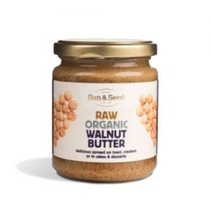 Sun & Seed Walnut Butter Raw Eko - 250 G