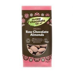 The Raw Chocolate Mandlar Med Raw Choklad Eko - 28 G