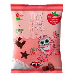 Tiny Peoples Choice Jordbær Ã? - 70 G