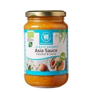 Urtekram Asia sauce kokos & karry Ã? - 325 ml