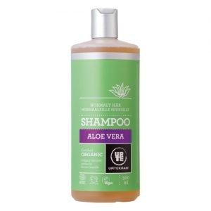 Urtekram - Body Care Shampoo T. Normalt Hår Aloe Vera - 500 ml