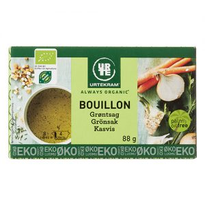 Urtekram Bouillon Grönsaks Eko - 88 G
