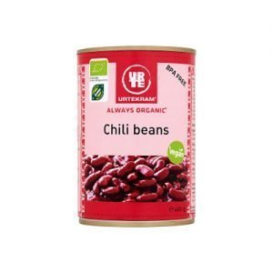 Urtekram Chili Beans Eko - 400 G