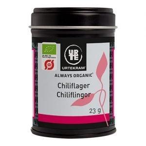 Urtekram Chiliflingor Eko - 23 G