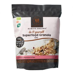 Urtekram Granola Superfood M. Chia Ã? Do It Yourself - 400 G