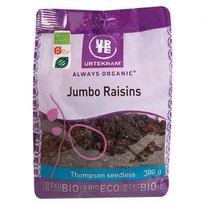 Urtekram Jumbo raisins Ã? - 300 G