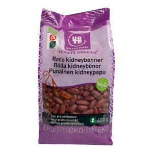Urtekram Kidneybønner røde Ã? - 350 G