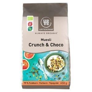 Urtekram Müsli Crunch 6 Choco Eko - 450 G