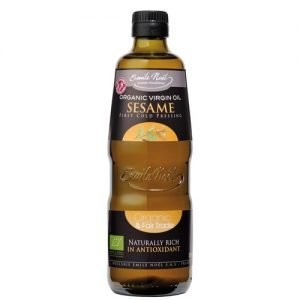 Urtekram Sesamolja Kallpressad - 500 ml
