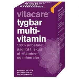 Vita Care Tuggmultivitamin - 100 Tabl