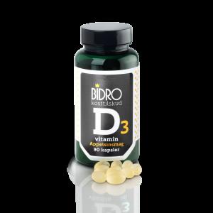 Vitamin D 38 Ug Med Apelsinsmak - 90 Kaps