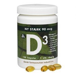 Vitamin D3 90 Mcg - 120 Kaps