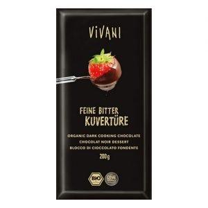 Vivani Delikat Bitter Smältchoklad Ekologisk - 200 G