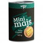 Buffé Mini Majs hela i Vatten 425 gr