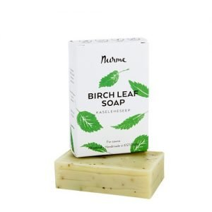 Nurme Purest Beauty Soap Bar Birch Leaf - 100 G