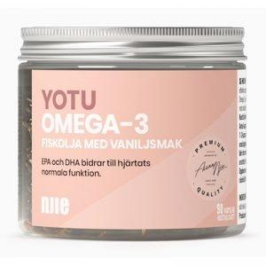 Omega-3 Vanilj 90 kapslar - 70% rabatt